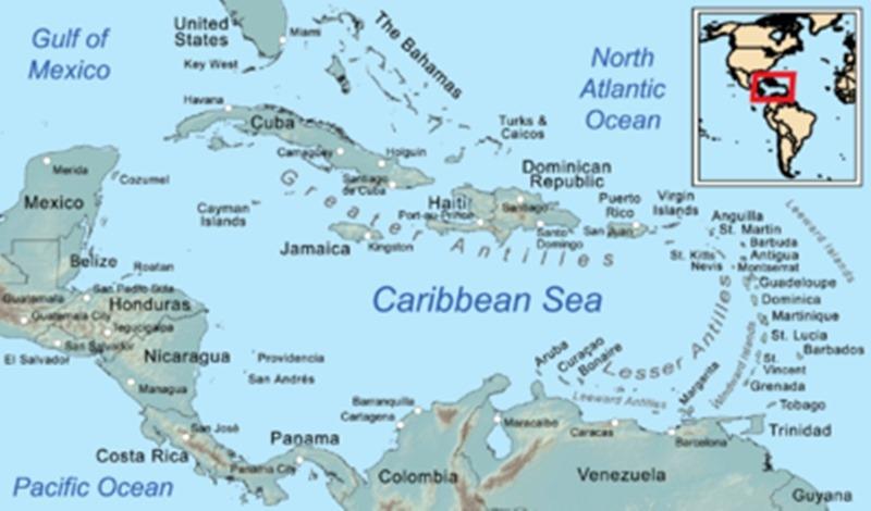 karibien karta Kärt barn har många namn | S/Y Lady Annilas resor och äventyr på  karibien karta